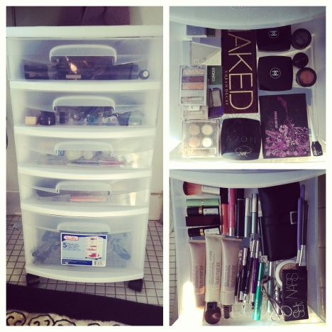 I'm so organized, it makes me ridiculously happy